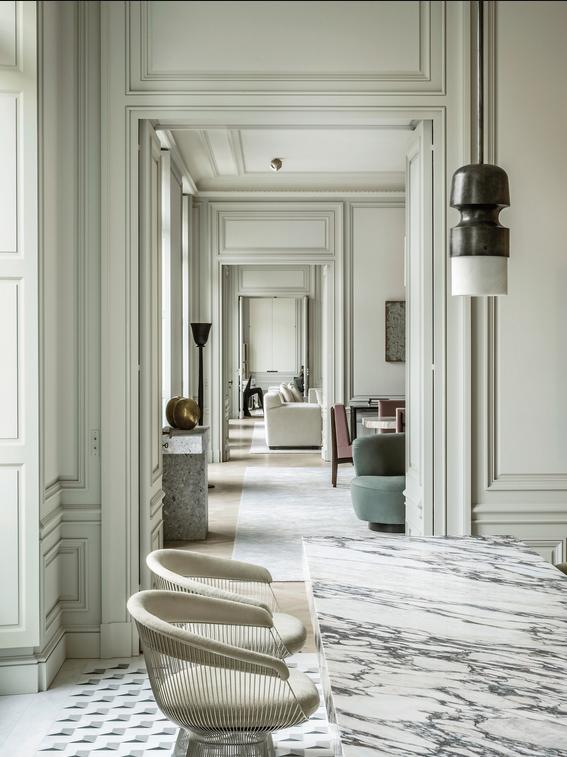 Joseph Dirand Latest Project A 19th Century Apartment In