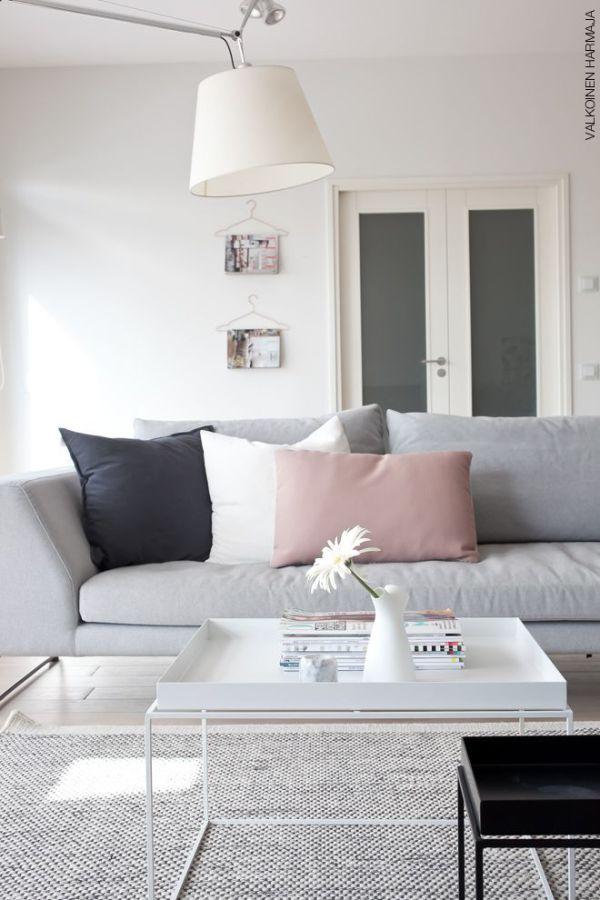 La fabrique d co associer les couleurs dans la d co for Deco salon gris rose