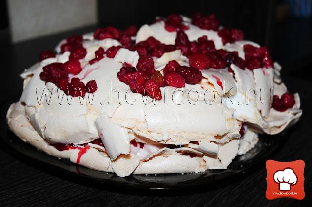"""Как приготовить торт """"Павлова"""" с маршмеллоу по рецепту Джейми Оливера"""
