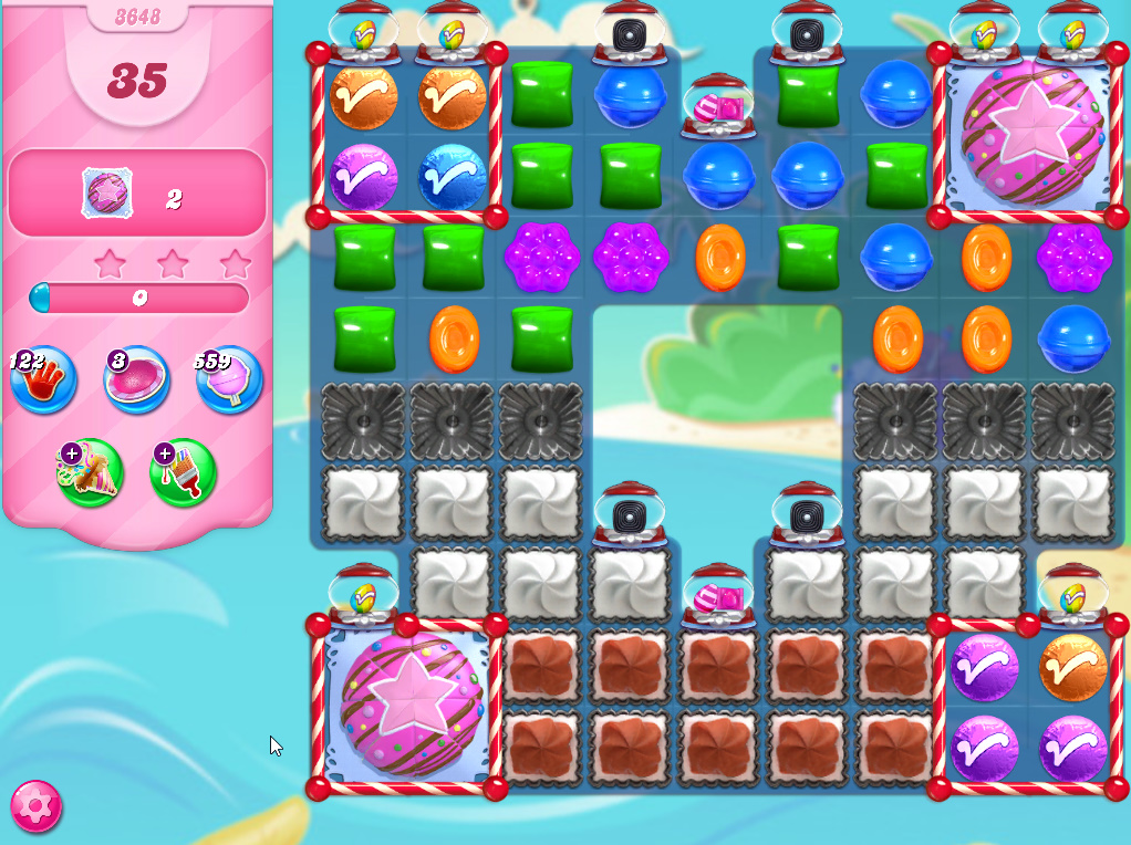Candy Crush Saga level 3648