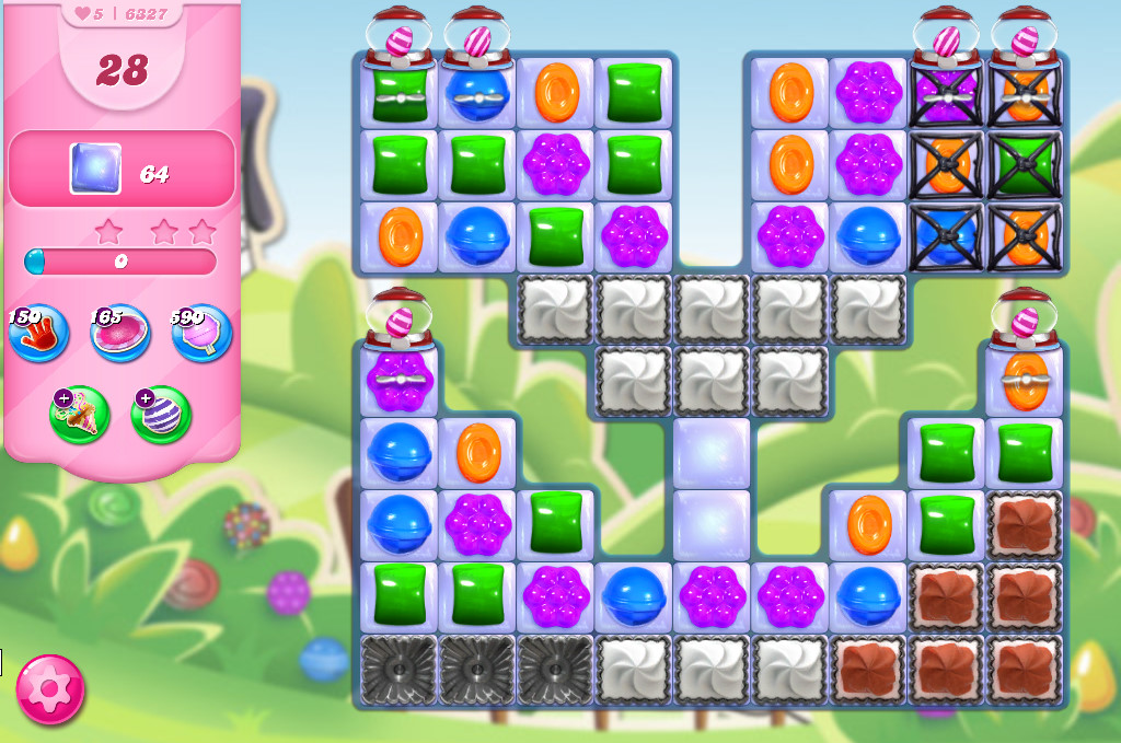 Candy Crush Saga level 6327