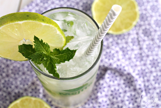 The combination of sweet coconut, refreshing mint, & tart key lime make this Coconut Key Lime Mojito the perfect end of summer cocktail.