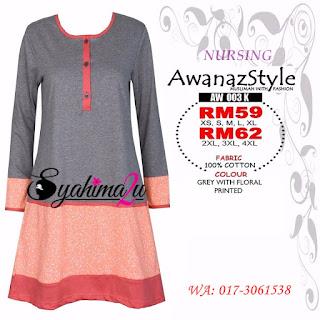 T-Shirt-Muslimah-Awanazstyle-AW003K