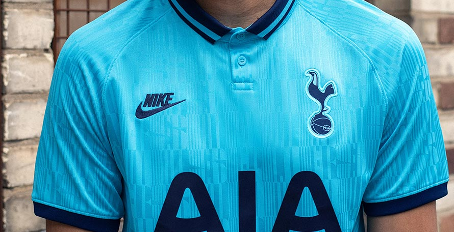free shipping f5277 8bc6c Nike Tottenham Hotspur 19-20 Third Kit Revealed - Footy ...