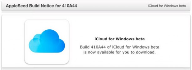 Apple Releases A New Beta Version Of iCloud For Windows