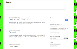clone template of Labnol.org well SEO blogger template