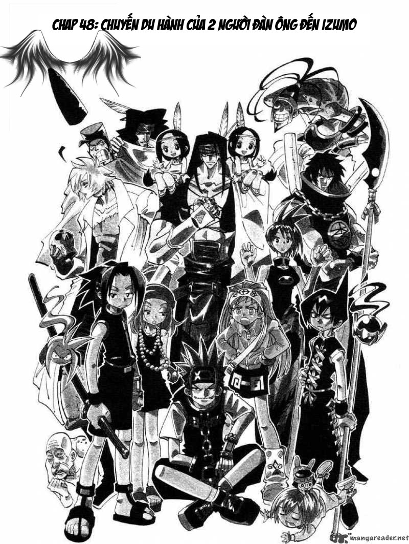 Shaman King [Vua pháp thuật] chap 48 trang 3
