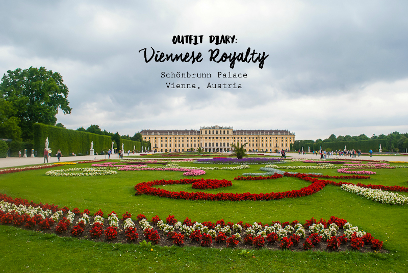 Visiting the Schönbrunn Palace in Vienna, Austria