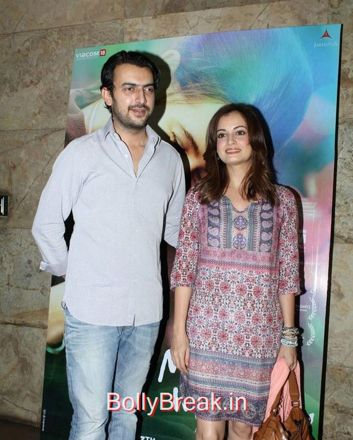 Sahil Sangha, Dia Mirza, Hot HD Pics of Dia Mirza, Huma Qureshi At 'Margarita With A Straw' Special Screening