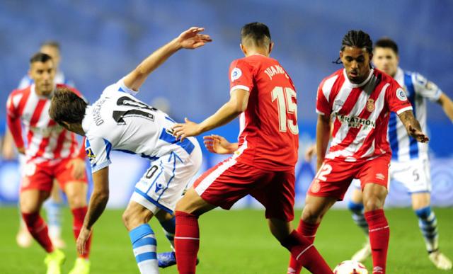 Real Sociedad 0x0 Girona – Não engrena nunca