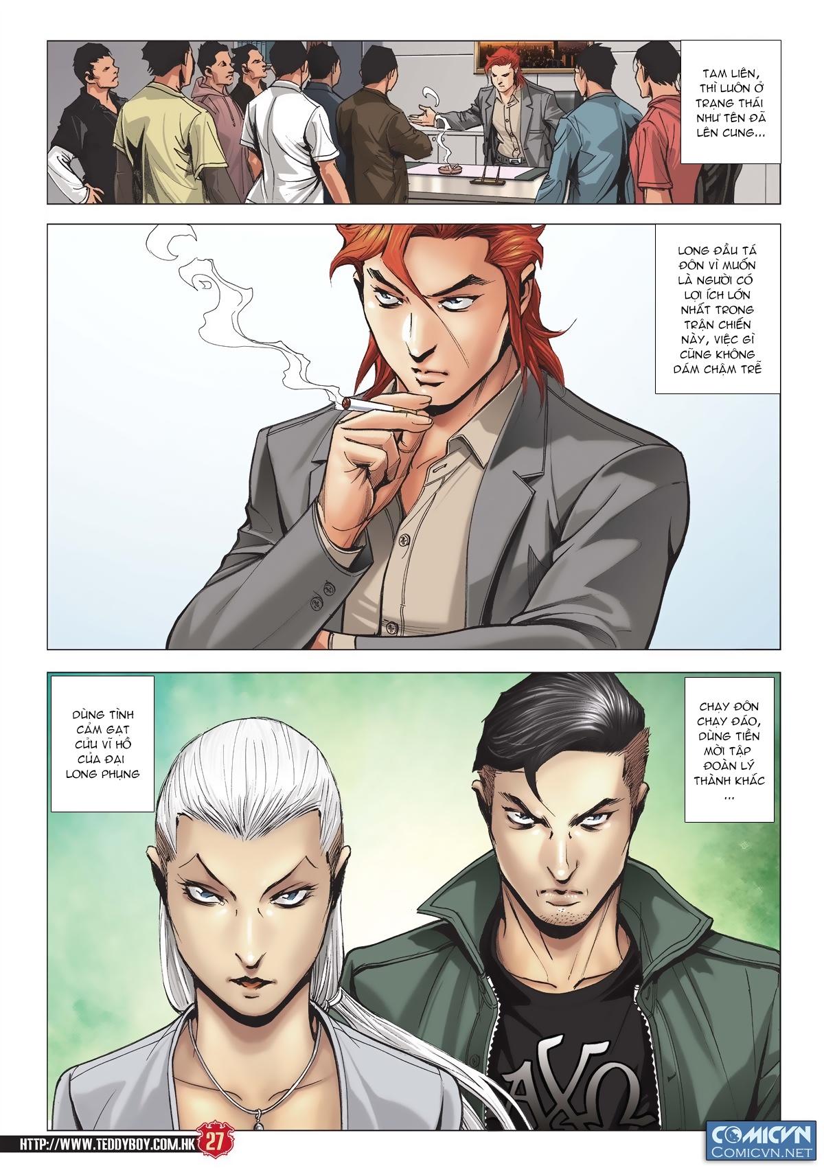 Người Trong Giang Hồ chapter 2011: hàn tân bỏ trốn trang 25