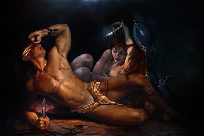 Британский художник. Thomas M. Thomson 5