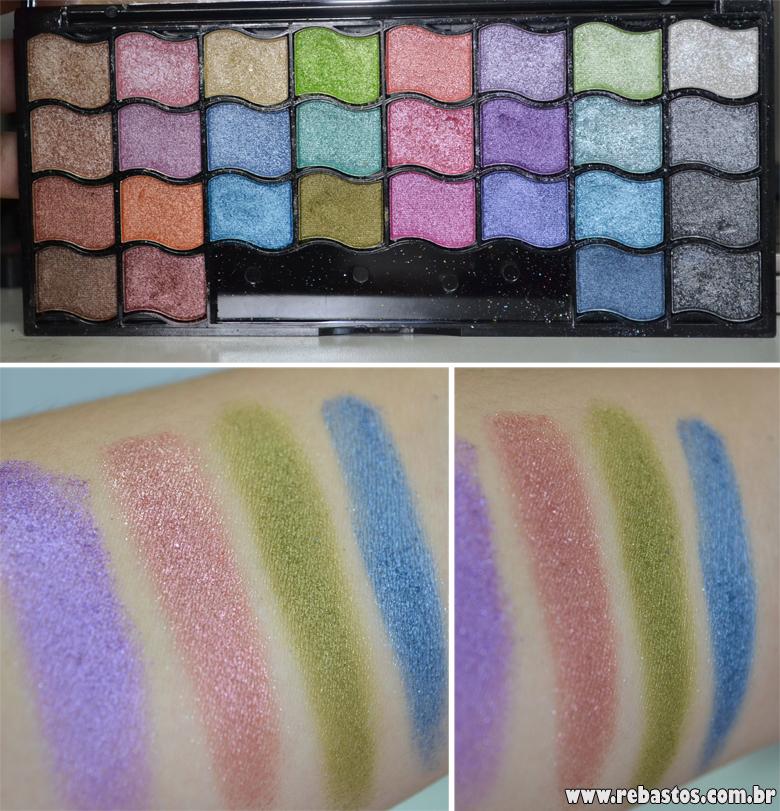 5 produtos BBB de maquiagem (Paleta Jasmyne)