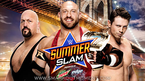 WWE SummerSlam 2015 PPV Intercontinental Title Match
