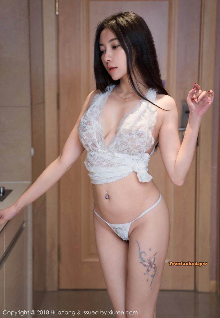 HuaYang 2018 10 23 Vol.090 Victoria Guo Er MrCong.com 029 wm - HuaYang Vol.090: Người mẫu Victoria (果儿) (43 ảnh)
