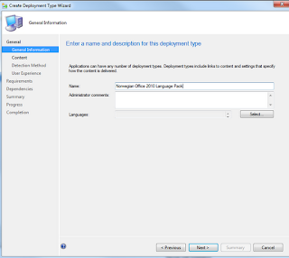 Office 2010 Language Pack Deployment in the Software Catalog for SCCM 2012 6