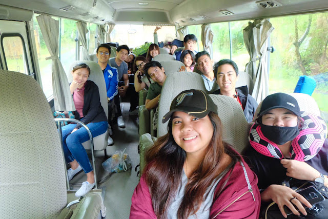 FSRM Bus RIde to Misibis Bay, Albay - Isarog