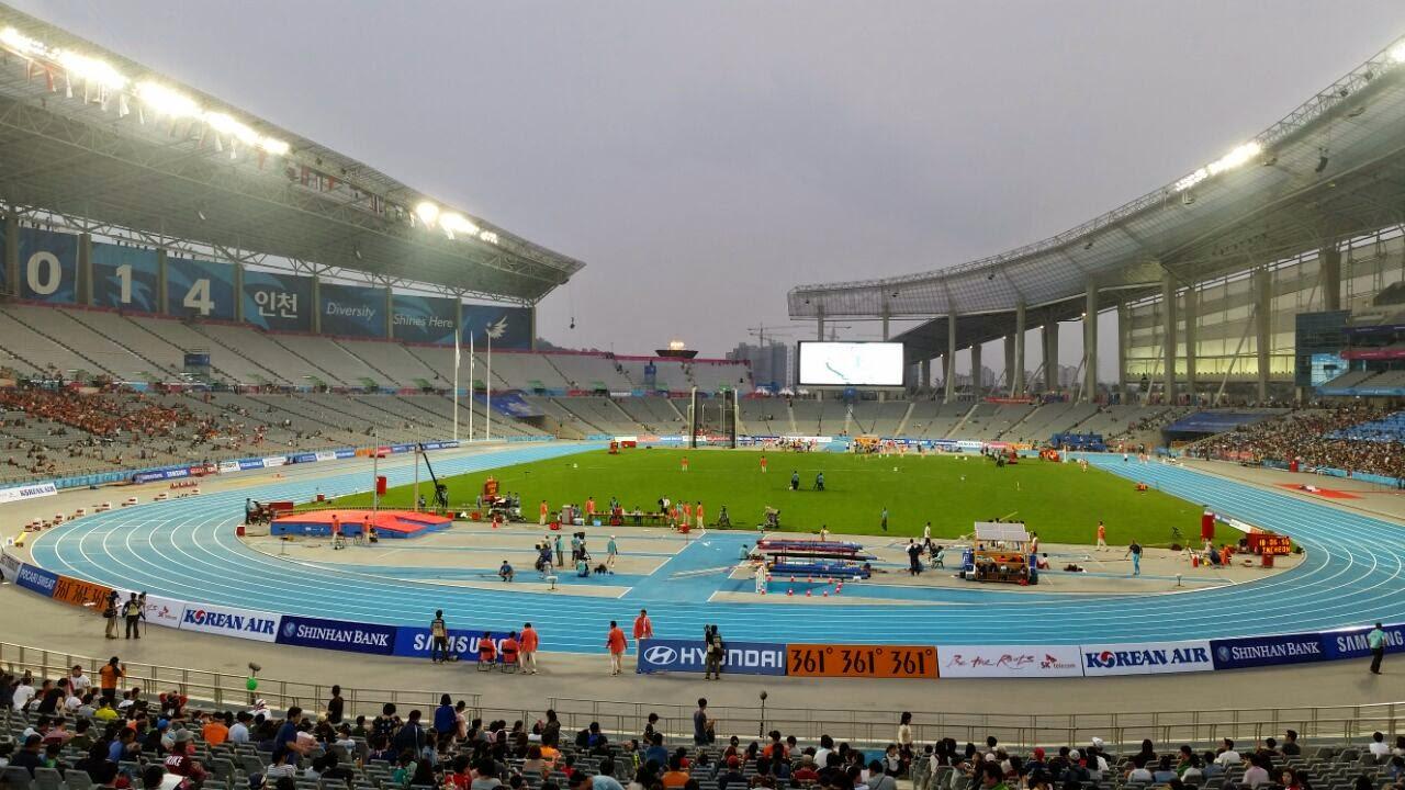 Main stadium during Athletics, 2014