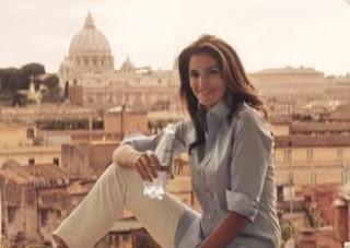 Acqua San Benedetto - spot con la bellissima modella/attrice Cindy Crawford