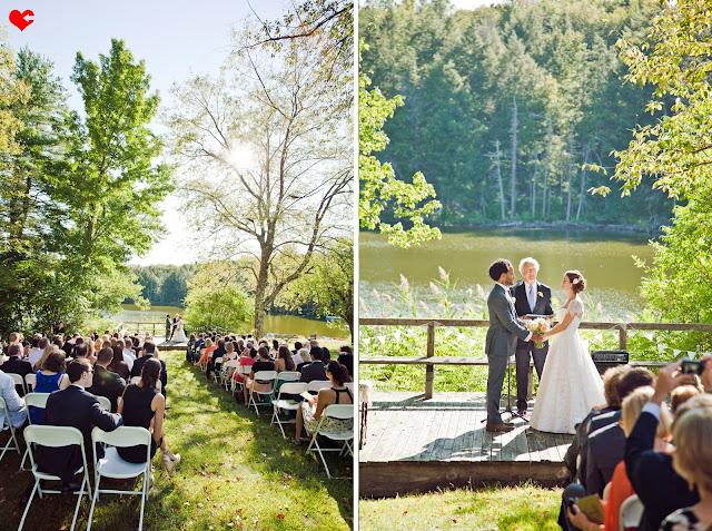 British outdoor garden wedding