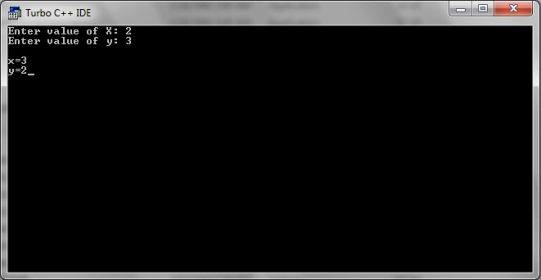 C program to swap two numbers without using temporary variable