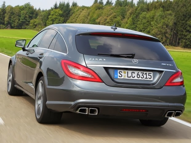 Mercedes CLS 63 AMG Shooting Brake 2014