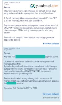 Solusi Salah Isi Data SNMPTN 2018