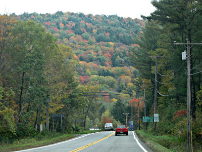 Leaf Peeping in Woodstock, VT