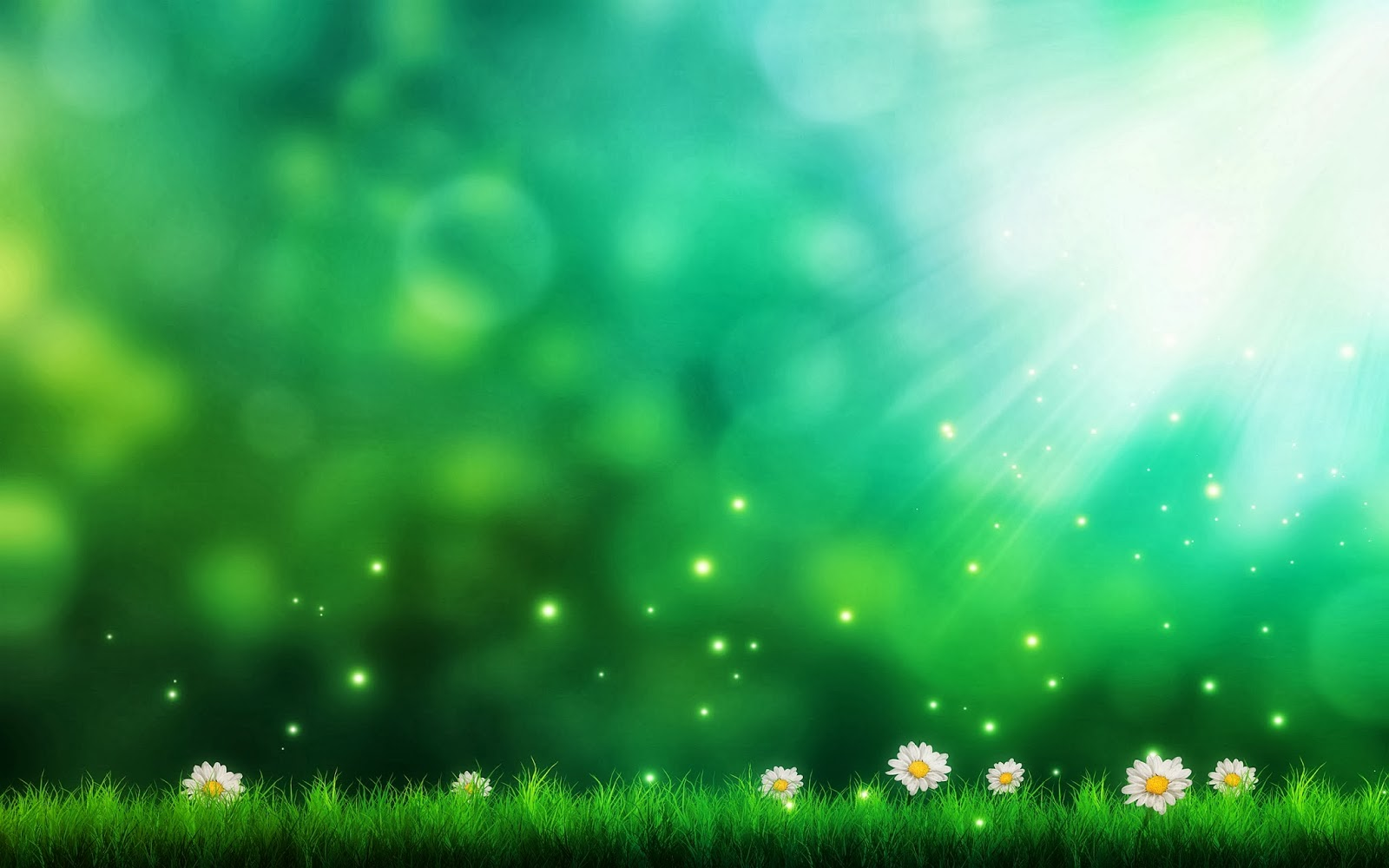 HD Wallpapers Desktop: Green Background HD DeskTop Wallpapers