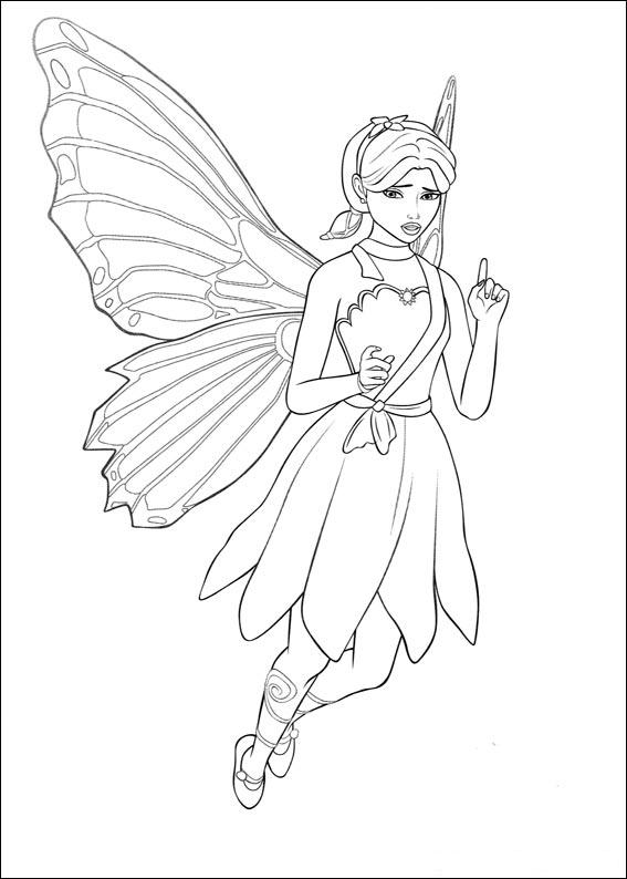 Coloring page barbie for kids print and coloring page for Barbie coloring pages for kids