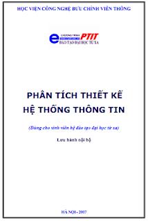 GIÁO TRÌNH - Phân tích và thiết kế hệ thống thông tin (Trần Đình Quế & Nguyễn Mạnh Sơn)