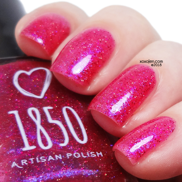 xoxoJen's swatch of 1850 Artisan True Love's Kiss