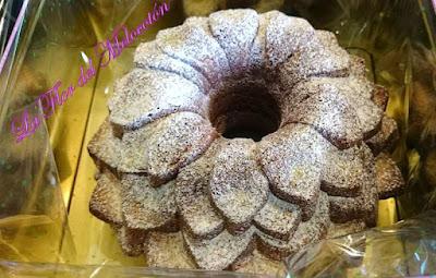 Bundt cake de mandarina especiado