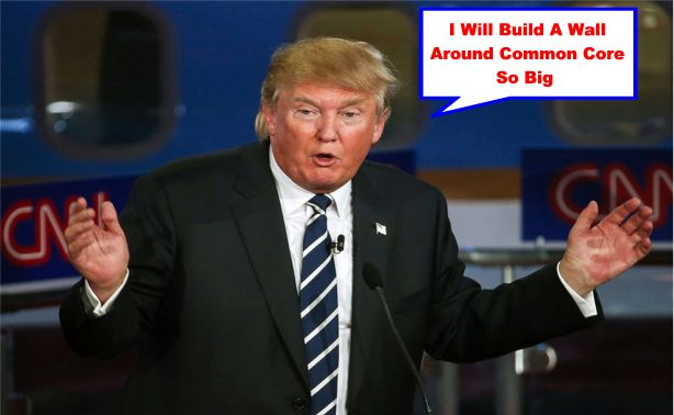Image result for big education ape trump common core