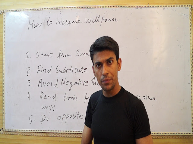 Prof. Vinod Kumar During Motivational Lecture