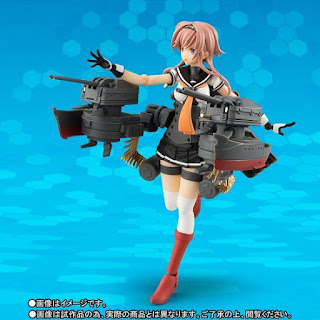 "AGP Teruzuki de ""Kantai Collection -KanColle-"" - Tamashii Nations"