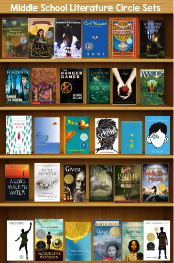 Book Set Recommendations For Middle School Literature Circles The
