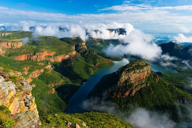 Mengunjungi Sungai Blyde di Mpumalanga