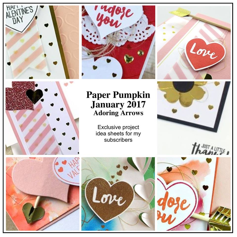Buy 3 Months of Paper Pumpkin--Get 2 Past Kits FREE | Klompen Stampers