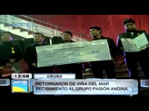 Gobernación otorgó reconocimiento a Pasión Andina tras su retorno de Viña del Mar