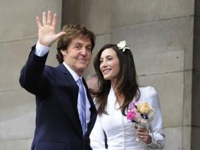 2 Paul McCartney & Nancy Shevell