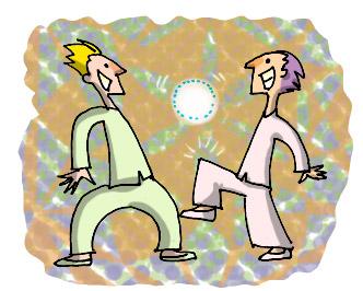 Resultado de imagem para lendo e chutando a bola ilustração