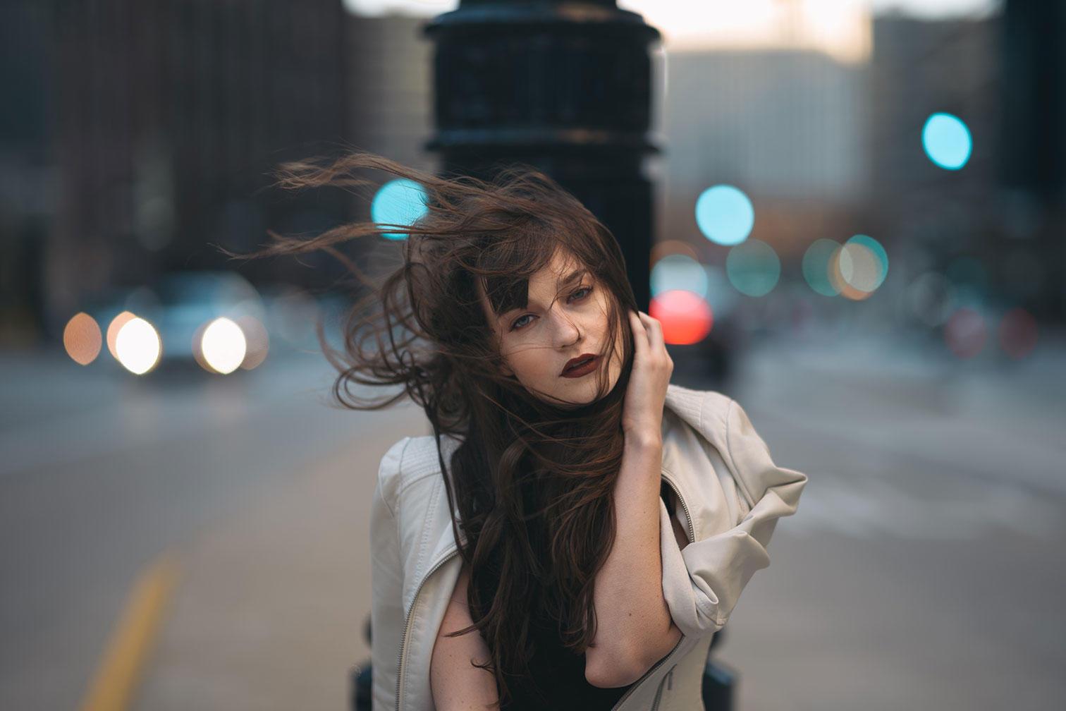 Женский портрет, пример съемки на объектив Leica Noctilux-M 75mm f/1.25 Asph
