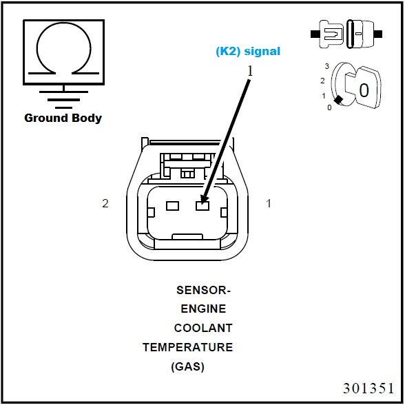 P0117 Engine Coolant Temperature Sensor Circuit Low