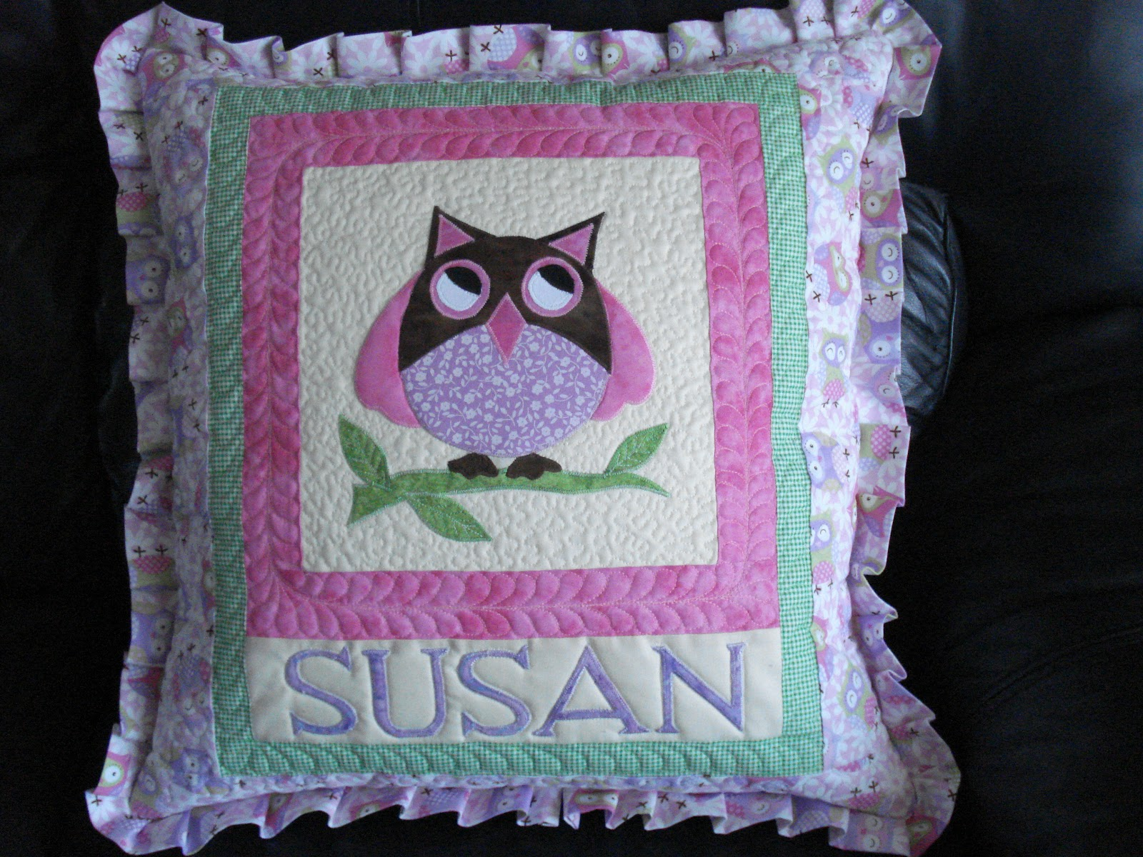 The Nifty Stitcher Cushions