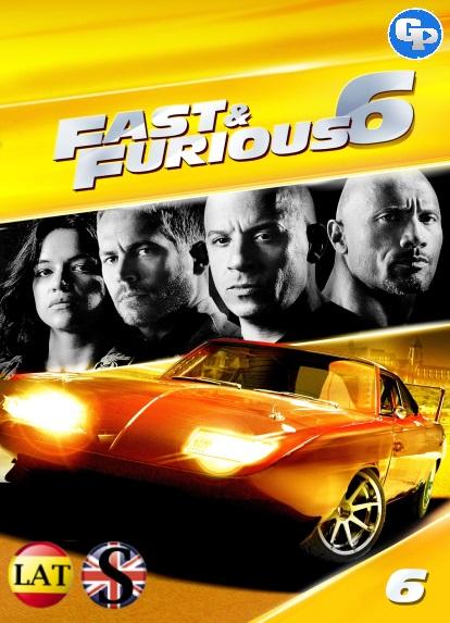 RAPIDOS Y FURIOSOS 6 (2013) HD 1080P LATINO/INGLES