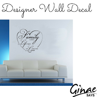 Designer Wall Decal