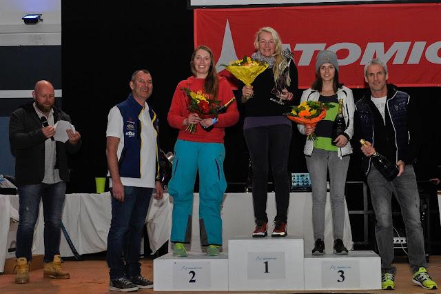 Siegerehrung Ski Damen, Petra Zeller