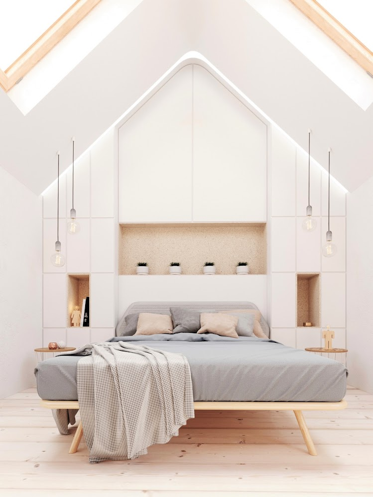 white-attic-bedroom