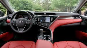 2018 Toyota Camry XSE V-6  interior